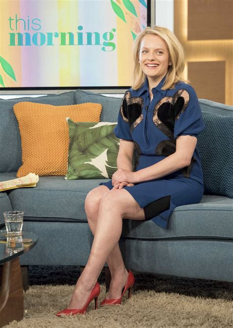 Elisabeth Moss at This Morning TV Show in London – Celeb Donut