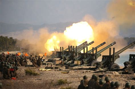 Kim Jong Un leads artillery fire competition by North