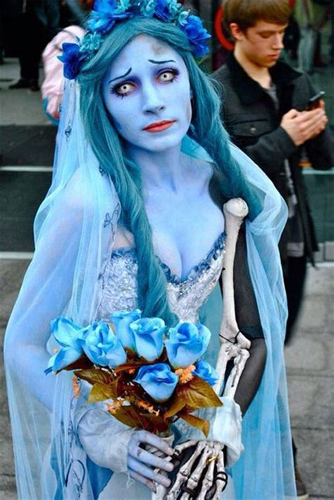 15+ Scary Corpse Bride Makeup Looks & Ideas For Halloween