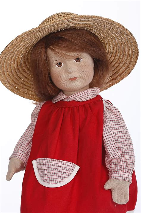 Barbara - cloth limited edition collectible doll by Karin