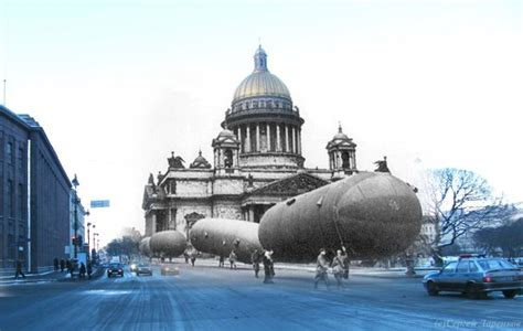 Leningrad Siege: Now and Then | English Russia