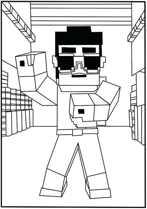printable minecraft coloring pages collection of free