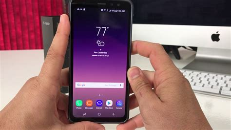 How to install SD and SIM card into Samsung Galaxy S8