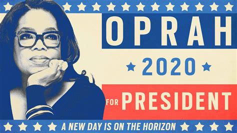 The Oprah 2020 Fantasy: Saving Us From Our Sh*thole President