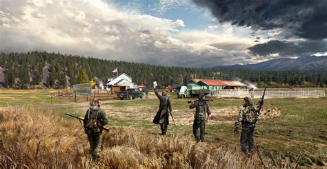 Far Cry 5 revealed: Ubisoft shooter is rooted in fear and