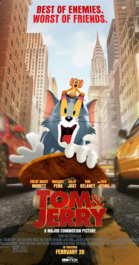 Download Tom and Jerry (2021) Mp4