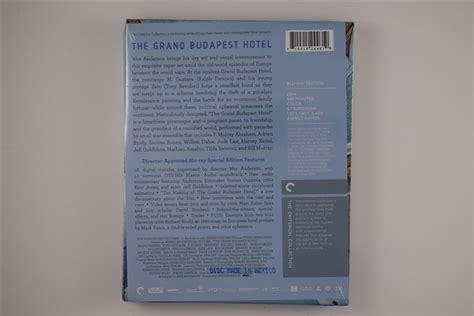 The Grand Budapest Hotel Packaging Photos :: Criterion Forum