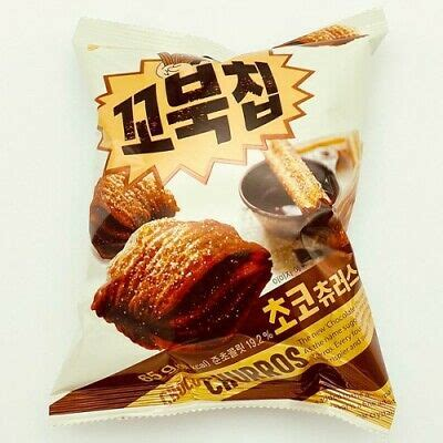 ORION Four Layers Turtle Chips Chocolate Churros Flavor