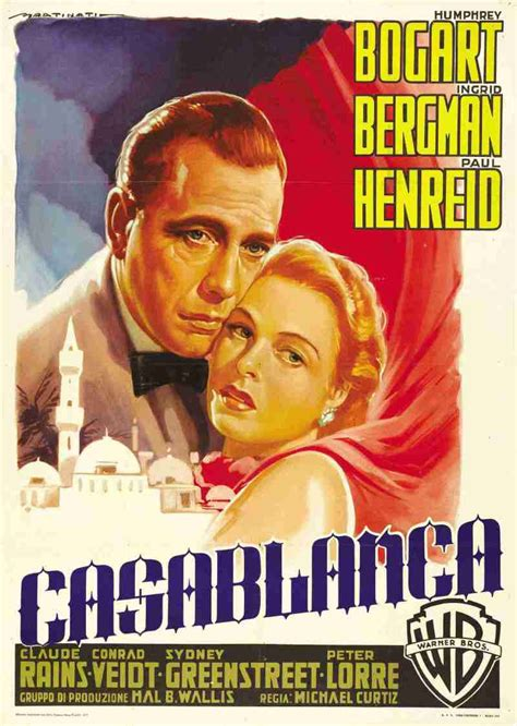 Casablanca   4   posters   Here's looking at you kid