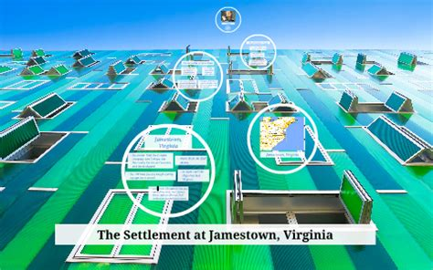 The Settlement at Jamestown, Virginia by Janaye Anderson