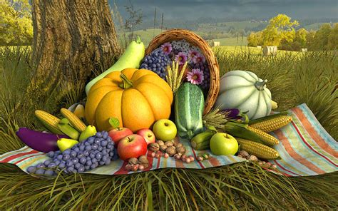 Thanksgiving Day 3D Screensaver - Download Animated 3D