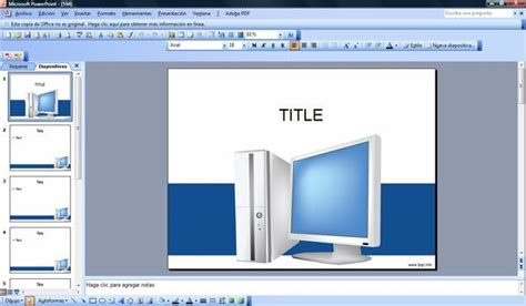Free Computer PowerPoint Template